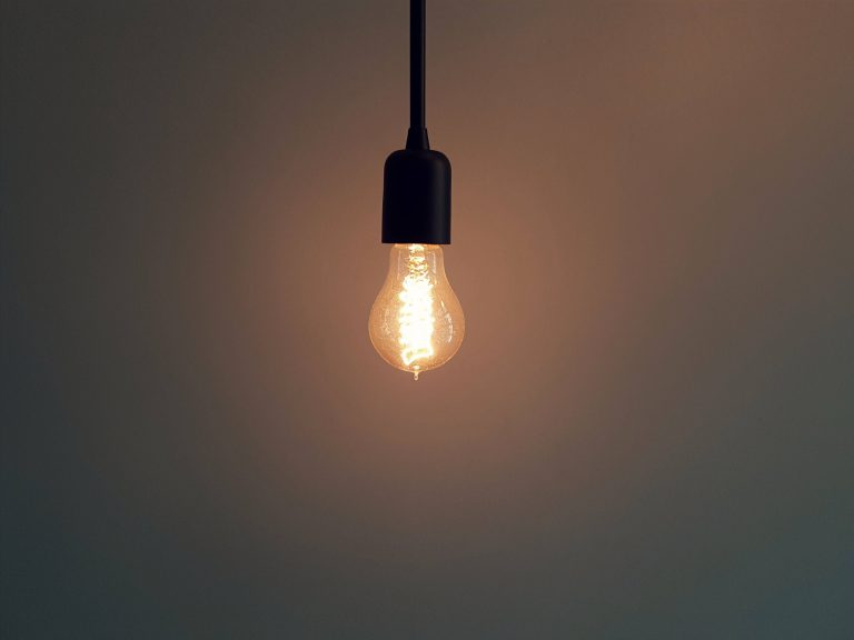 light bulb turned on to represent the content within the blog post as being enlightening