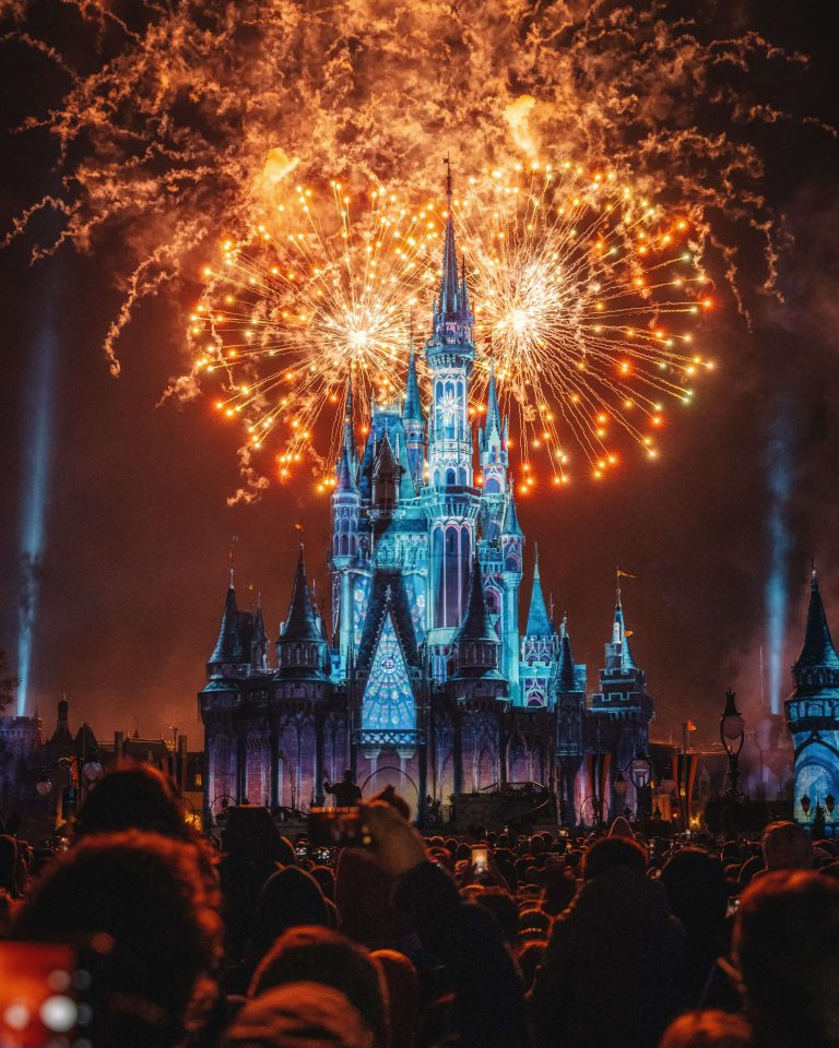 Cinderella's castle at Walt Disney World is shown to represent the magic of using analytics to guide business decisions